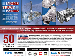 Lyons Truck Parts - Line Card